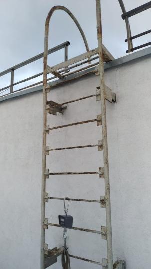 Испытания лестниц