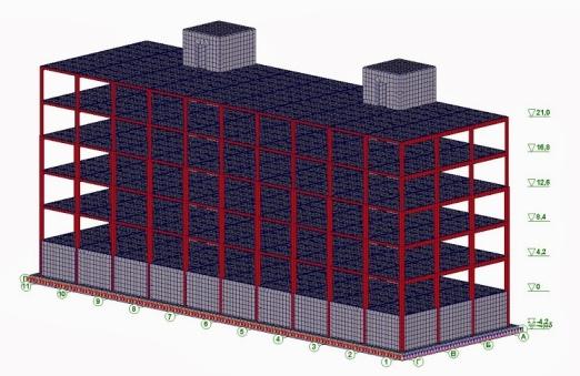 Моделирование и расчет зданий