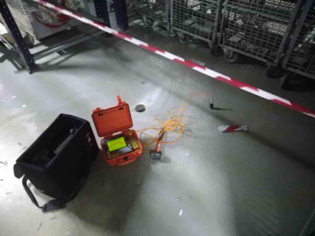 Сейсмоаккустика и георадарное обследование плиты