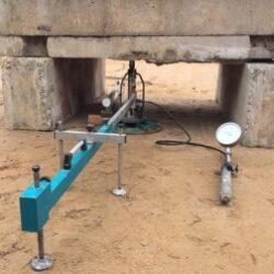 Штамповые испытания грунтов статическими вдавливающими нагрузками
